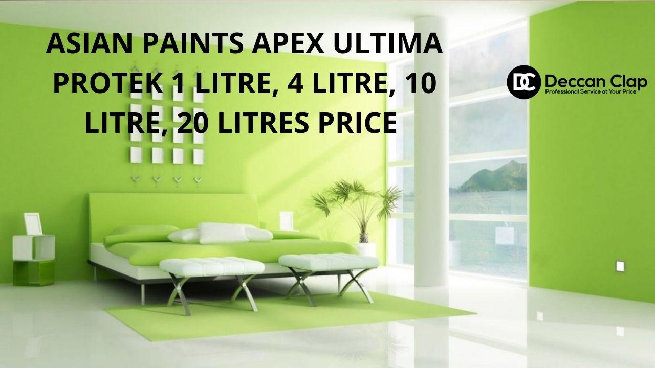 Asian paints Apex ultima protek Ltr price