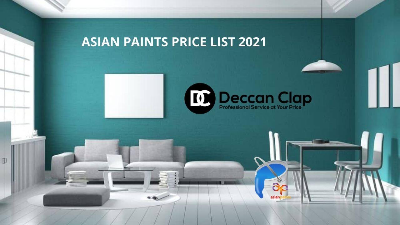 Asian paints price list 2021