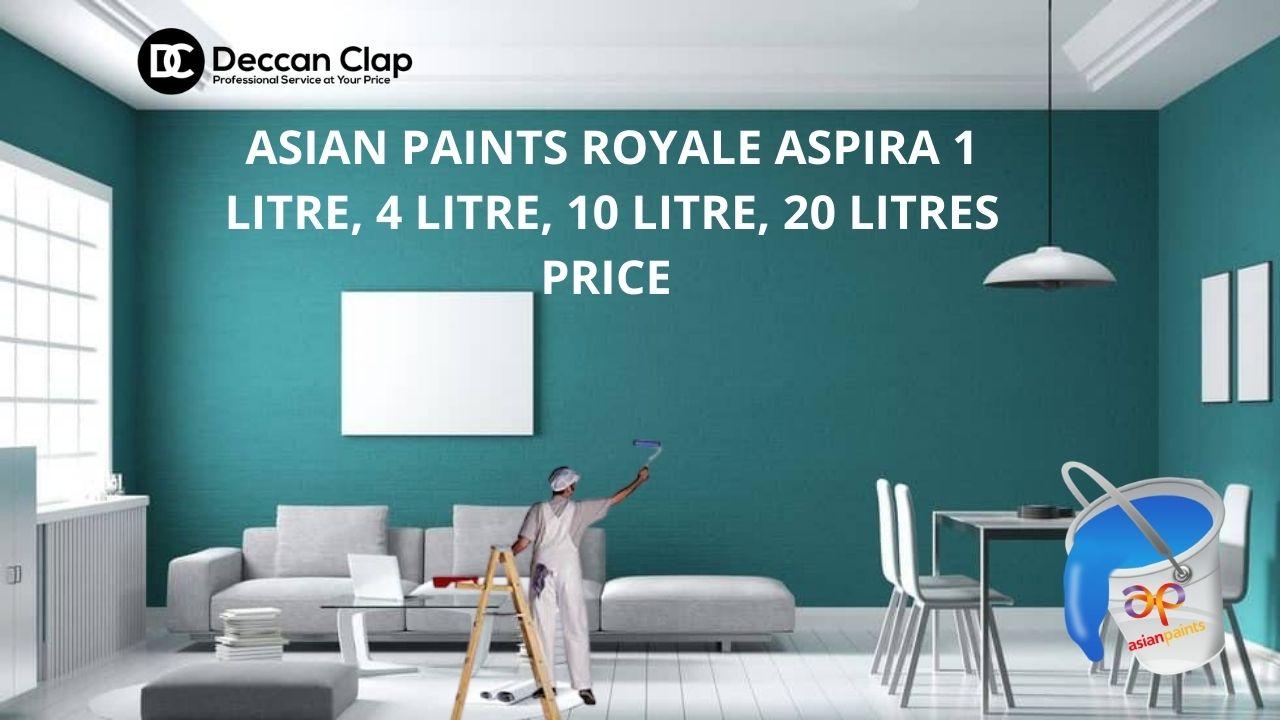 Asian paints Royale Aspira ltr Price