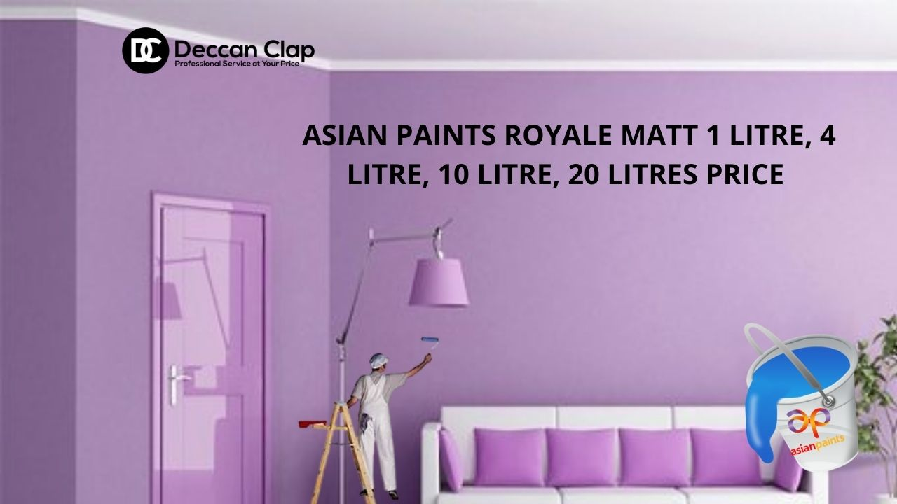 Asian paints Royale MATT Ltr Price