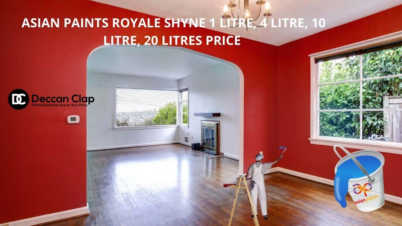 Asian paints Royale Shyne Ltr price