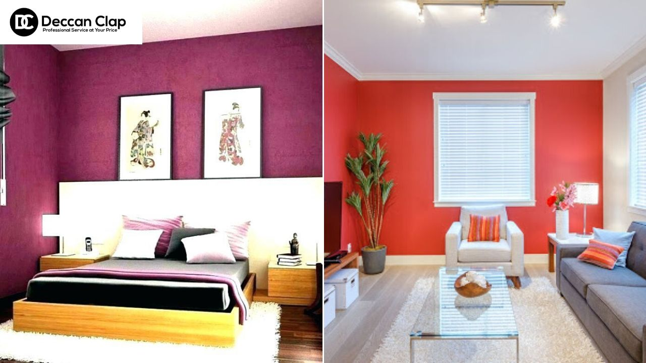 Best Colour Combinations for Bedroom and Living Room