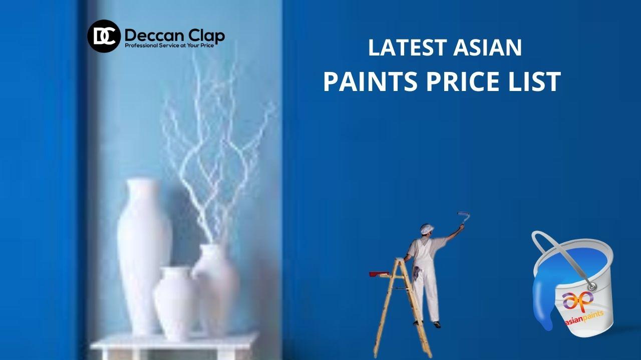Latest Asian paints price list
