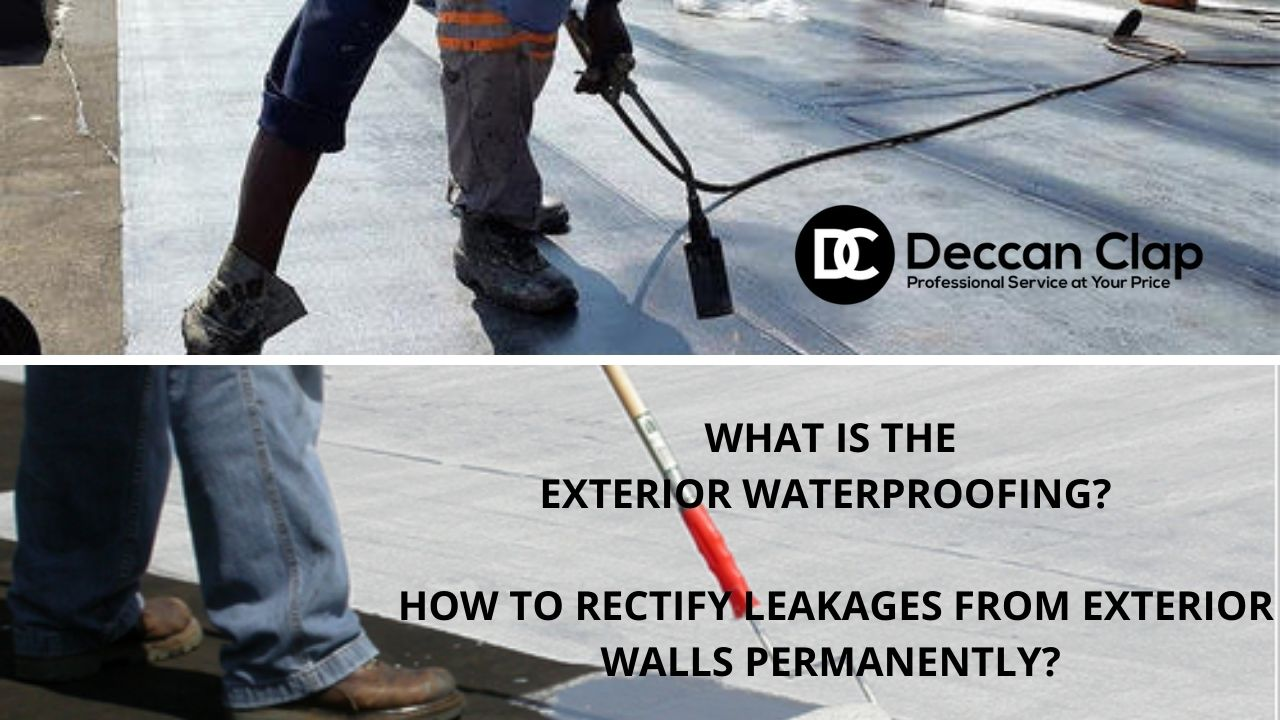 What is the Exterior waterproofing