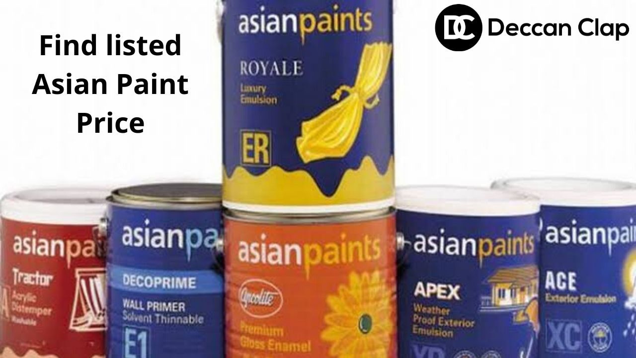 Find listed Asian Paint Price