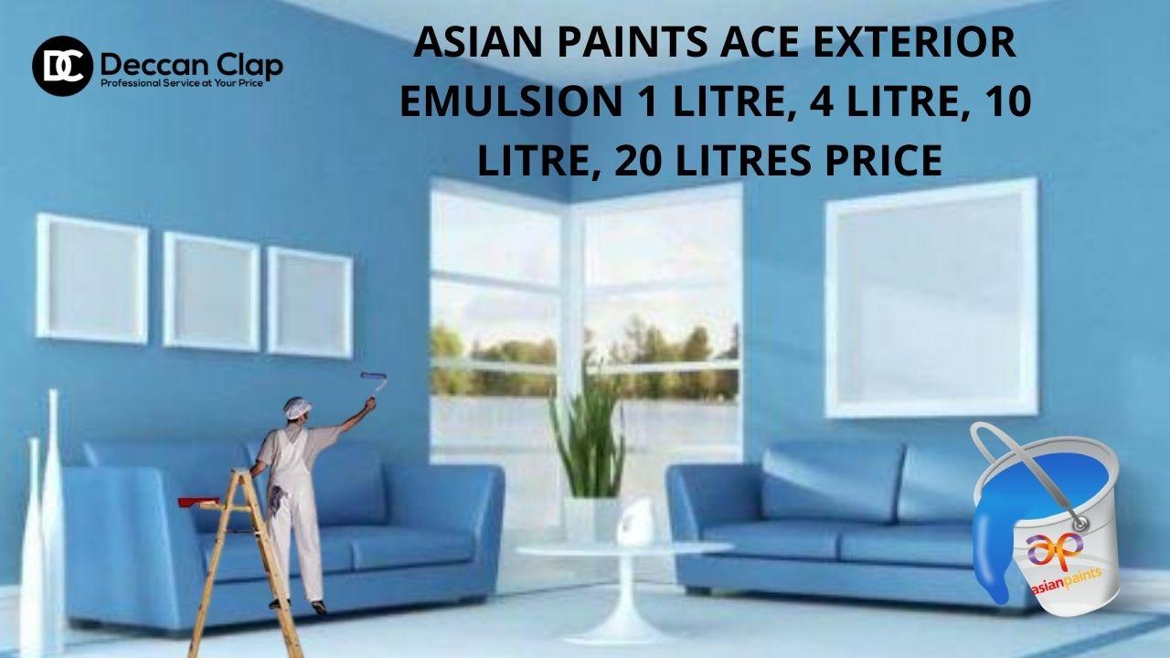 Asian Paints ACE Exterior Emulsion Ltr Price
