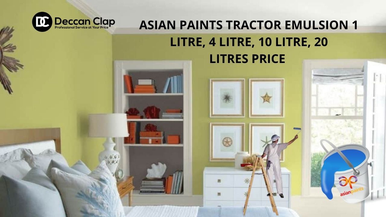 Asian Paints Tractor Emulsion Ltr Price