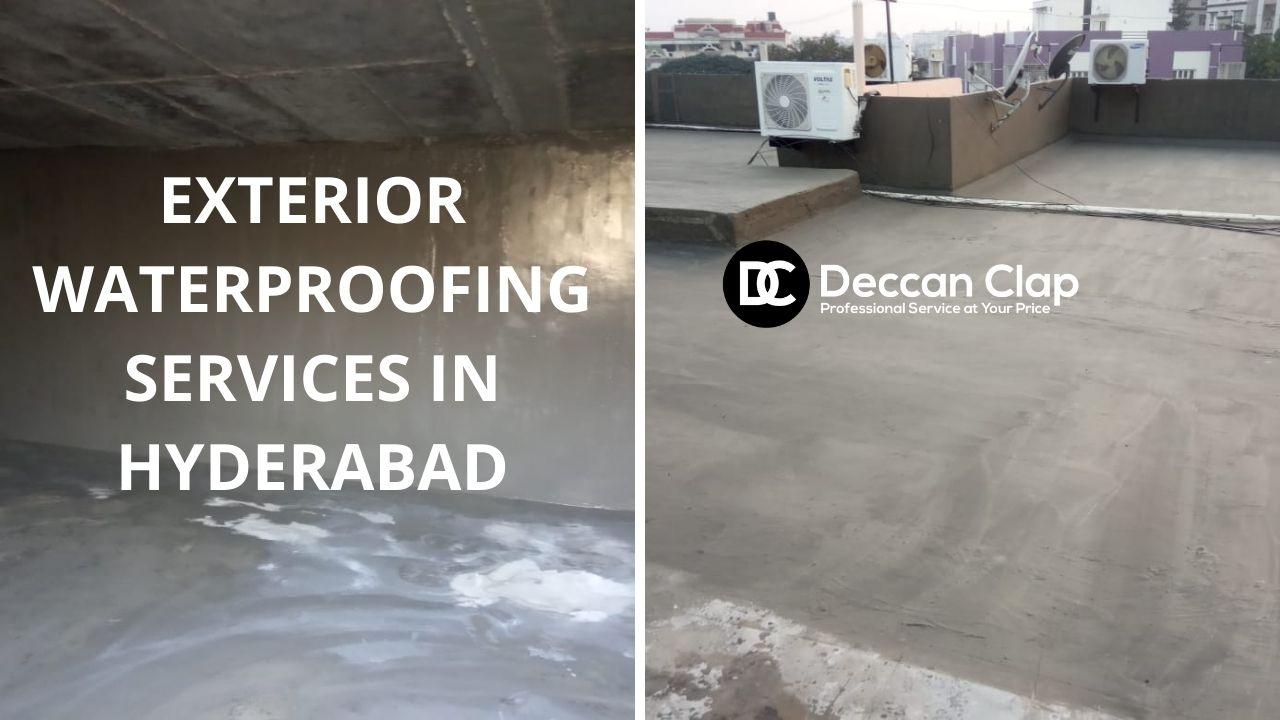 Exterior waterproofing services in Hyderabad