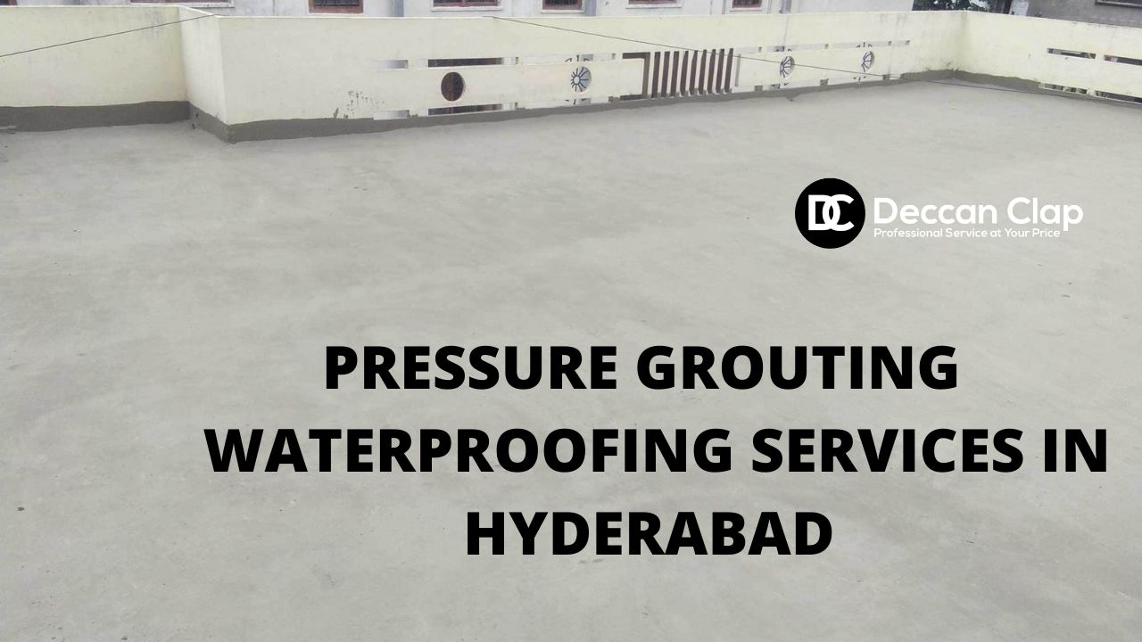 Pressure Grouting waterproofing services in Hyderabad