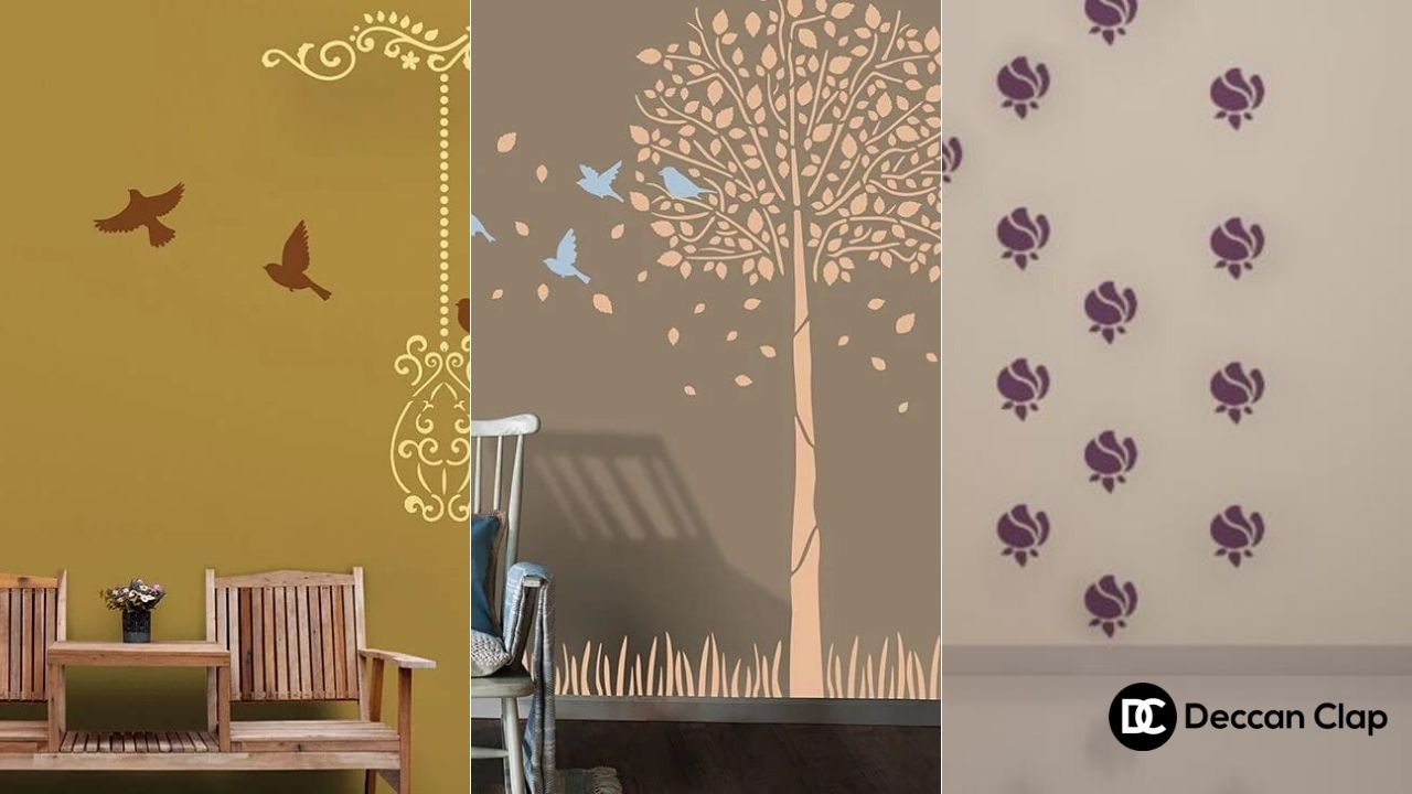 stencil wall painting services in hyderabad