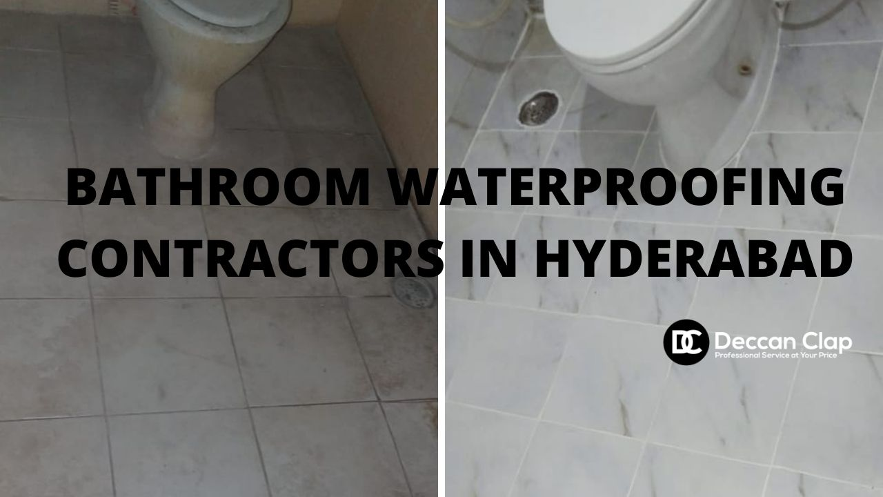 Bathroom waterproofing contractors in Hyderabad