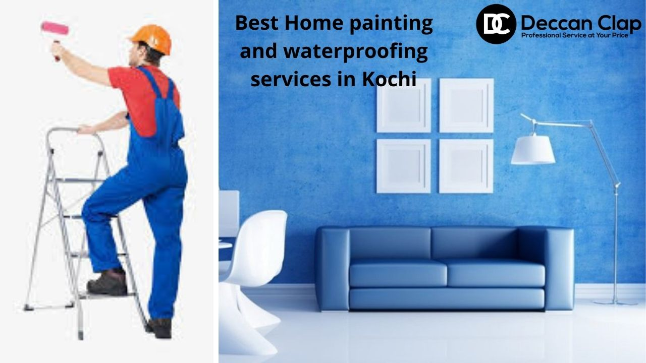 Best Home painting and waterproofing services in Kochi