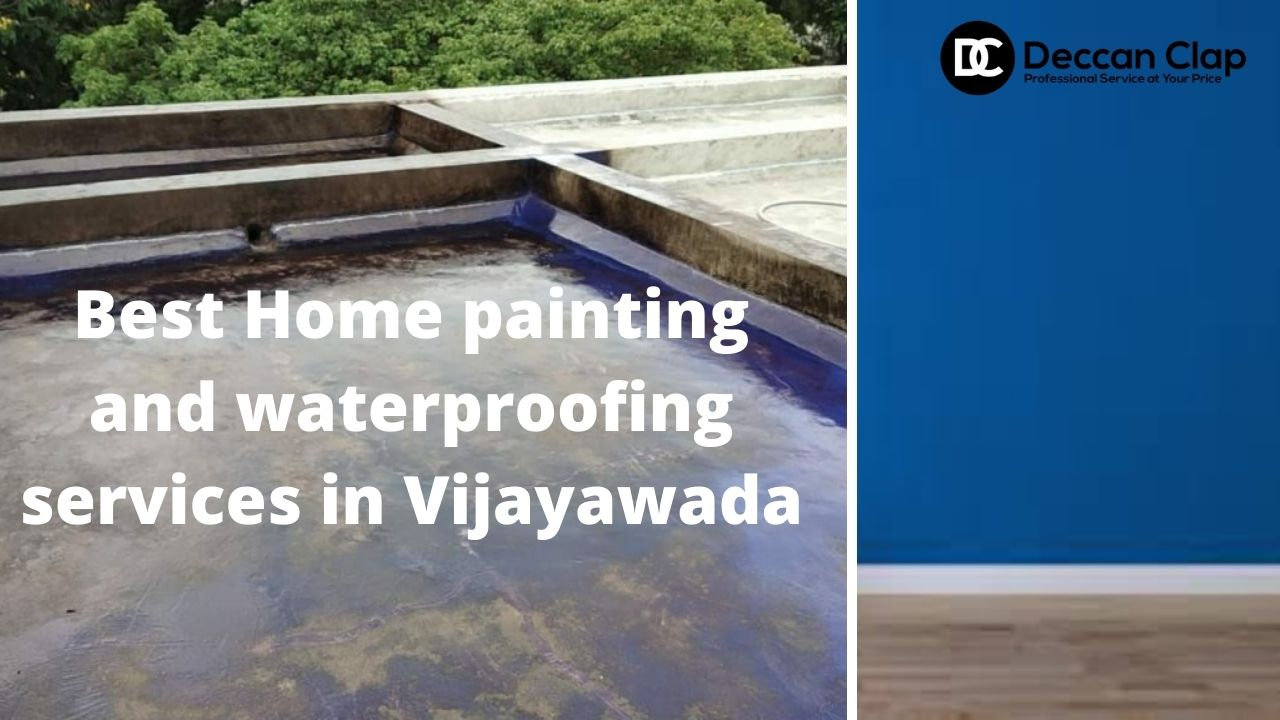 Best Home painting and waterproofing services in Vijayawada