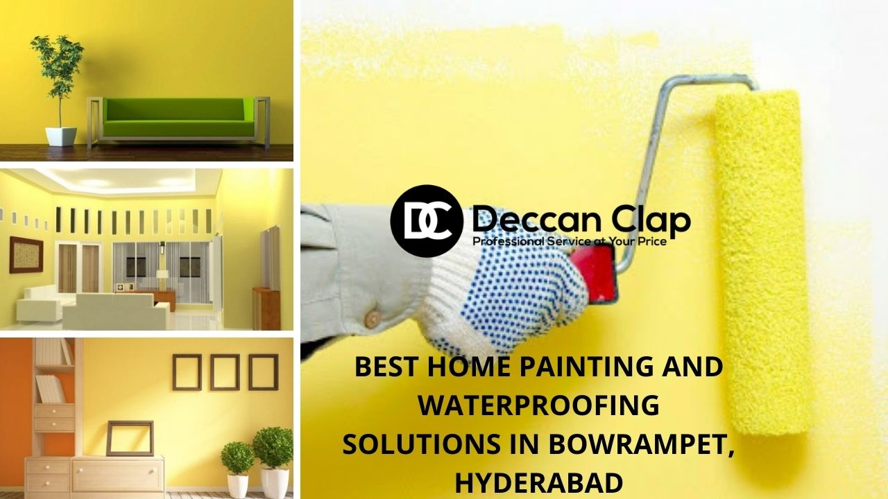 Best Home painting and Waterproofing solutions in Bowrampet, Hyderabad