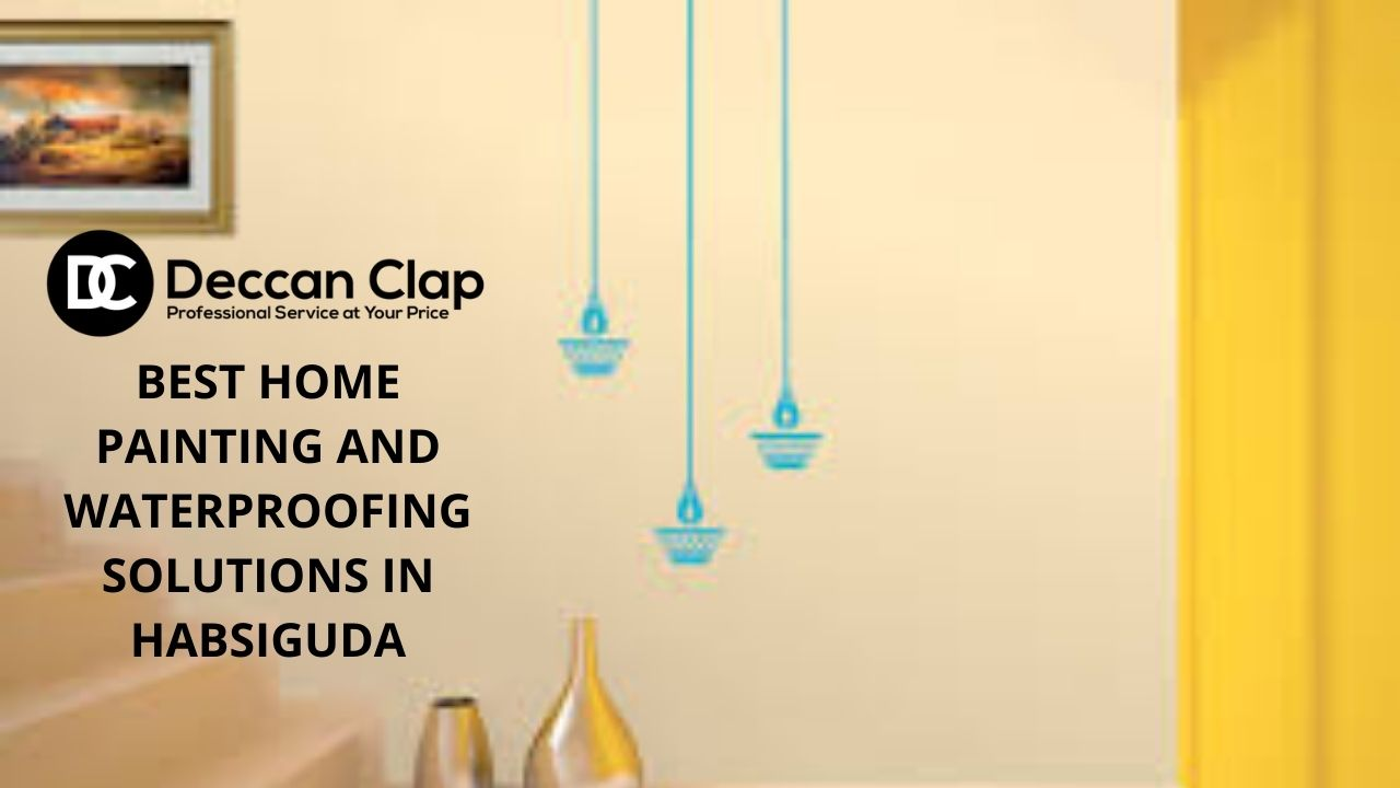 Best Home painting and Waterproofing solutions in Habsiguda