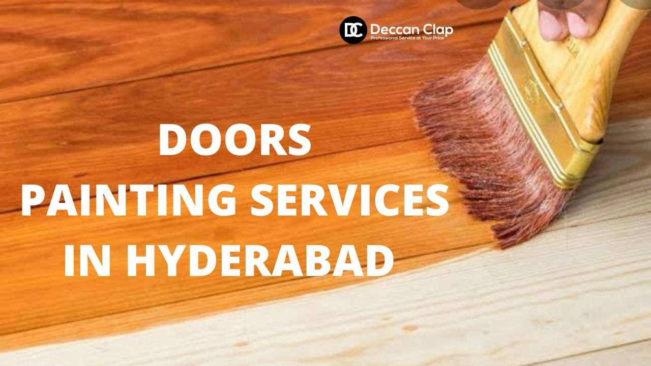 Doors painting services in Hyderabad