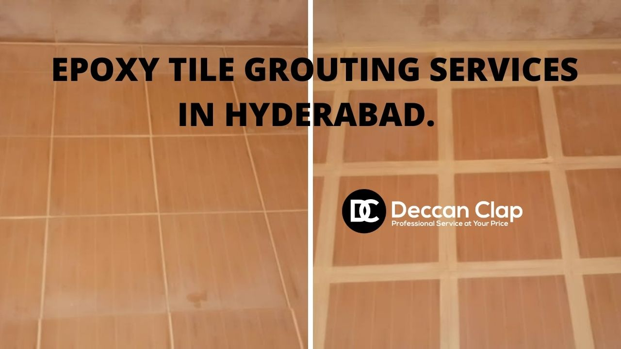 Epoxy tile grouting services in Hyderabad
