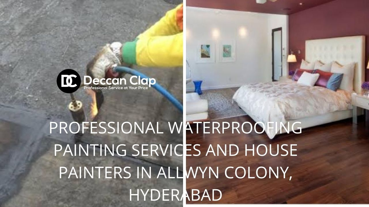 Professional waterproofing painting services and house painters in Allwyn Colony, Hyderabad
