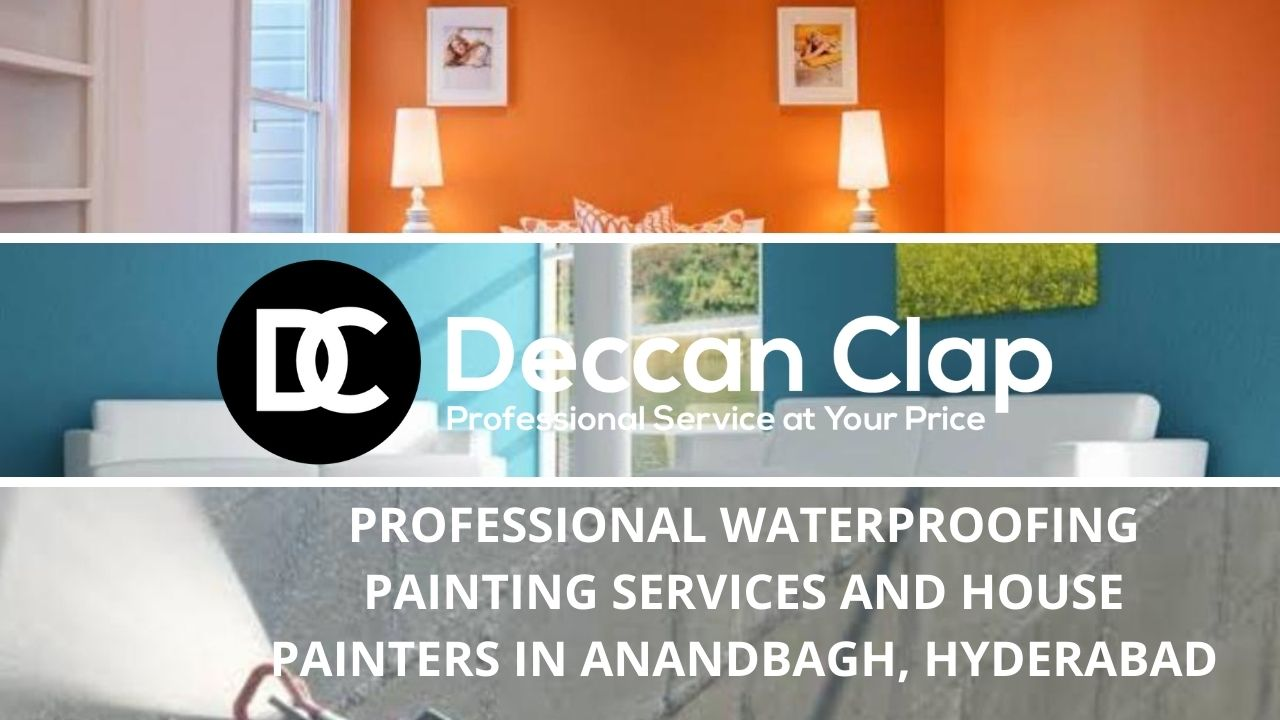Professional waterproofing painting services and house painters in Anandbagh Hyderabad