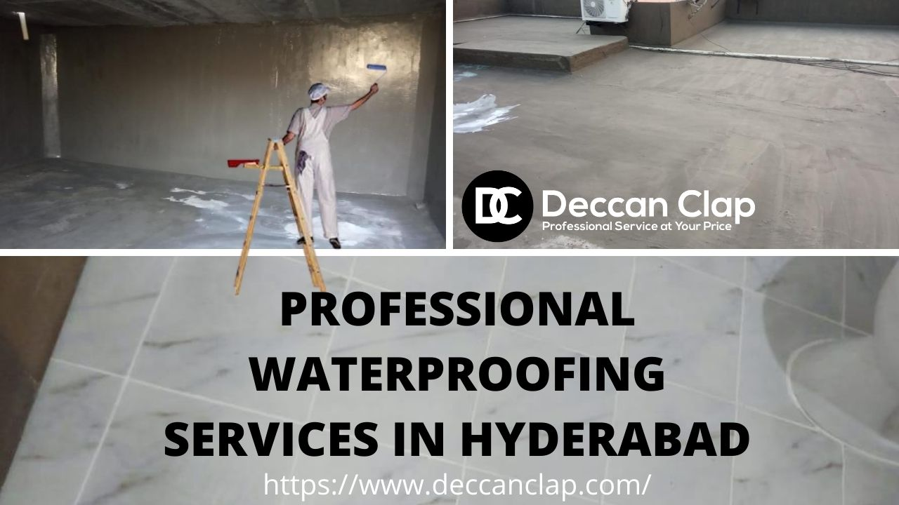 professional waterproofing services in Hyderabad