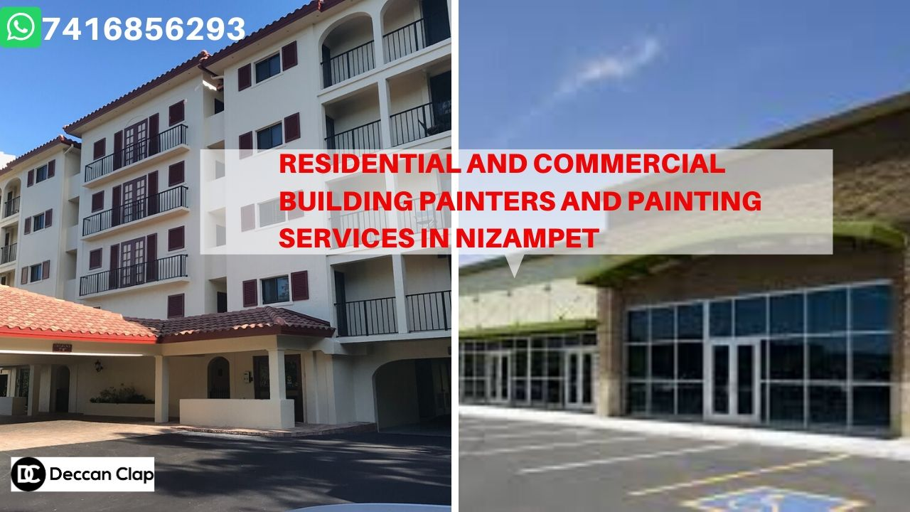 Residential and commercial building painters and painting services in Nizampet