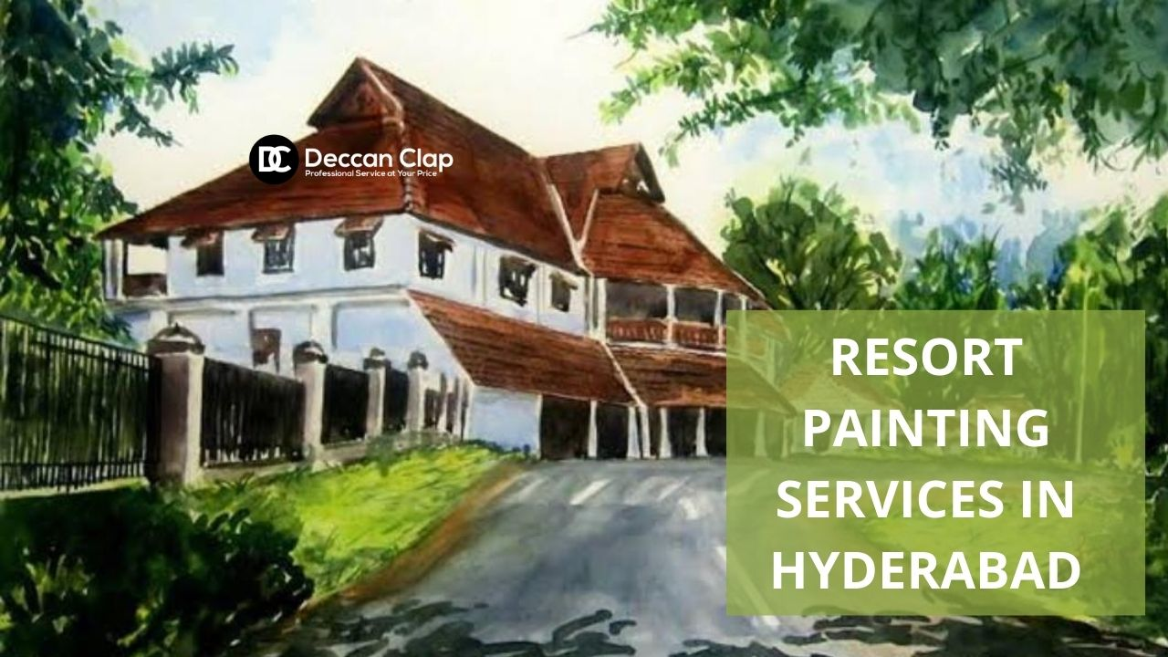 Resort painting services in Hyderabad