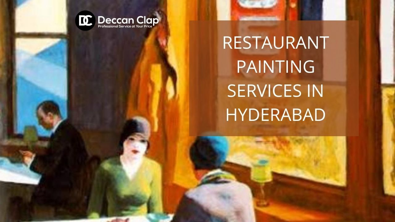 Restaurant painting services in Hyderabad