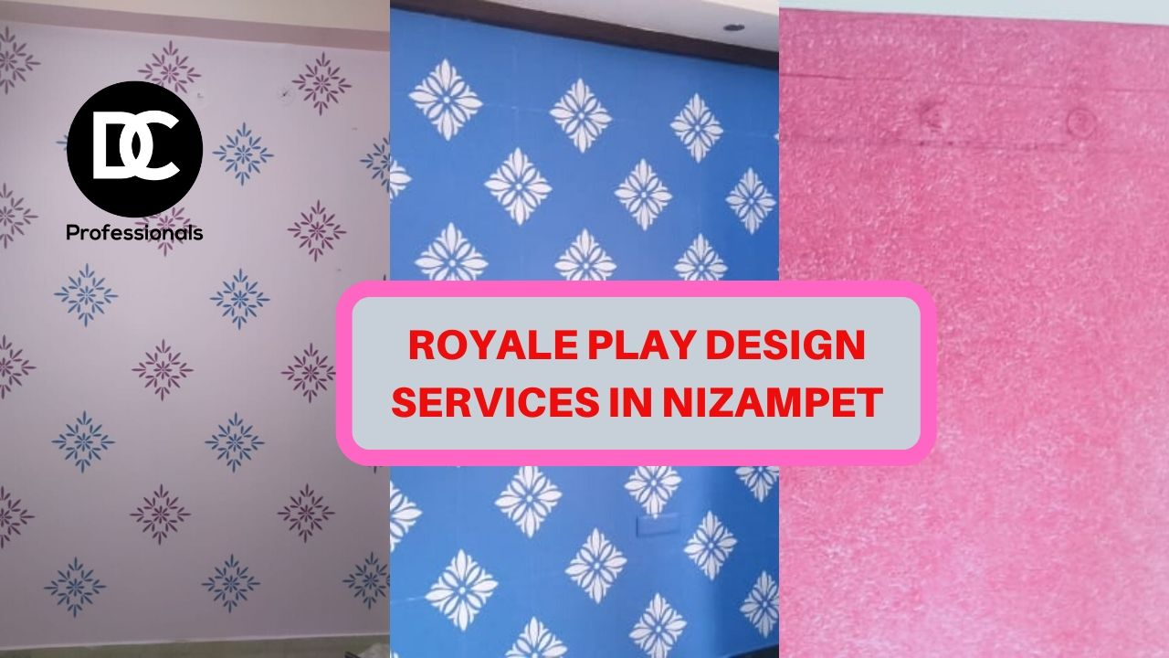 Royale play wall painting services in nizampet