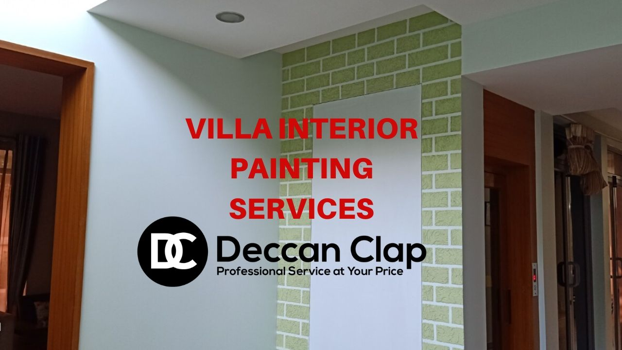 Villa Interior Painting Services in Hill Country Nizampet