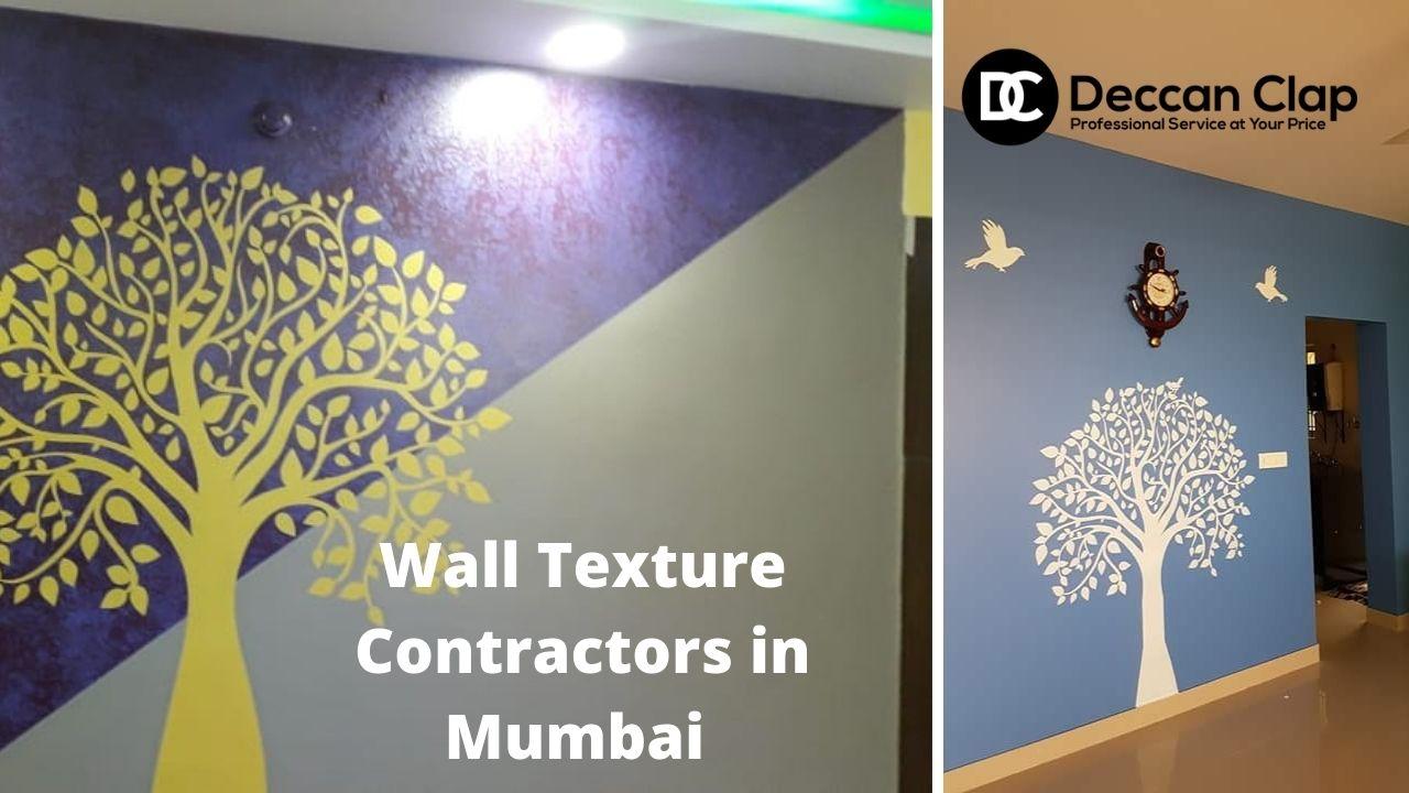 Wall Texture Contractors in Mumbai
