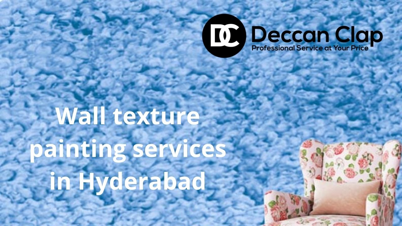 Wall texture painting services in Hyderabad