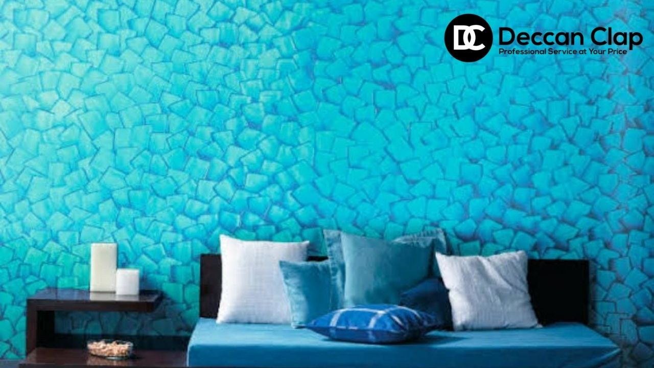 Wall Textured painting services in Hyderabad