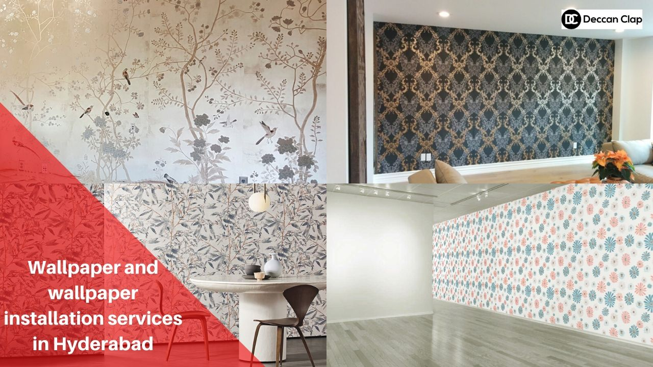 Wallpaper and Wallpaper installation services in Hyderabad
