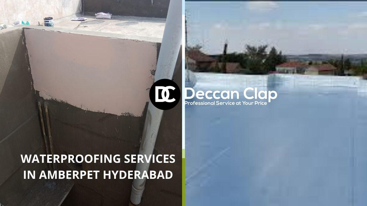 Waterproofing services in Amberpet Hyderabad