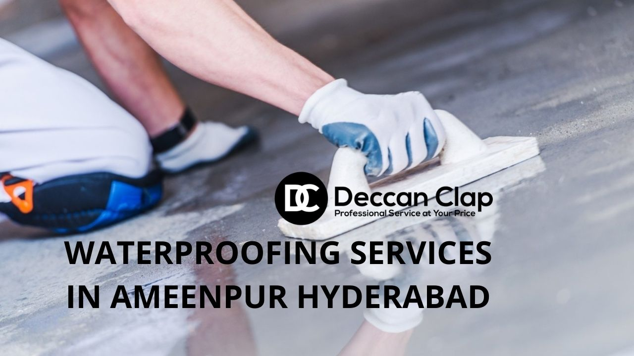 Waterproofing services in Ameenpur