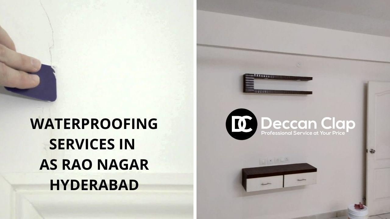 Waterproofing services in As rao nagar