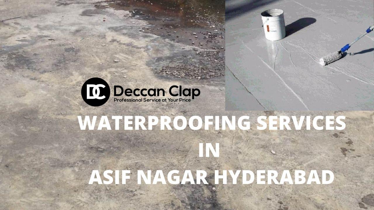 Waterproofing services in Asif nagar