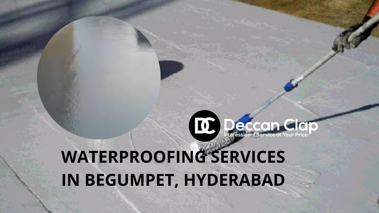 Waterproofing services in Begumpet