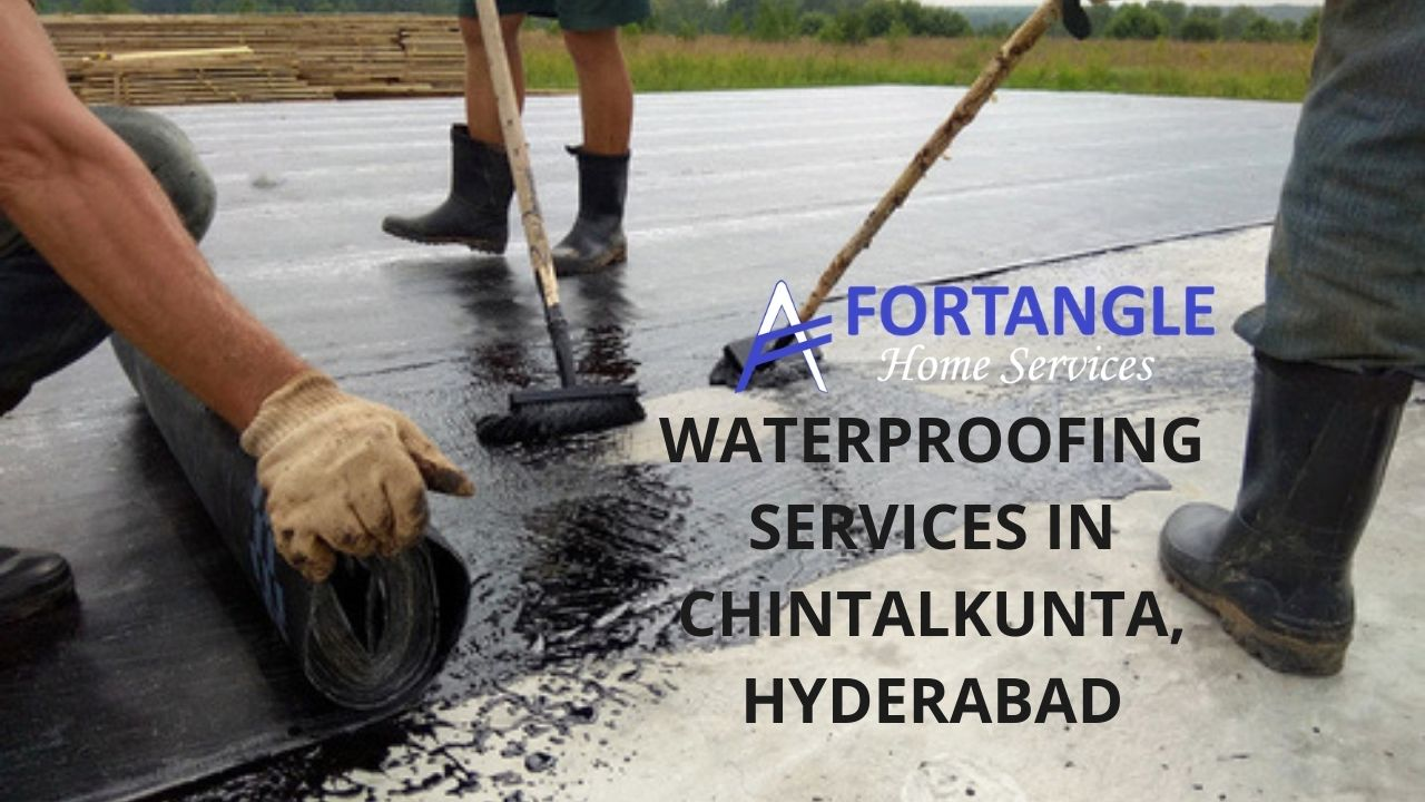 Waterproofing services in Chintalkunta, Hyderabad