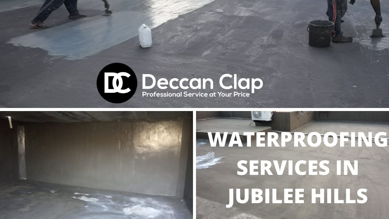 Waterproofing services in Jubilee hills