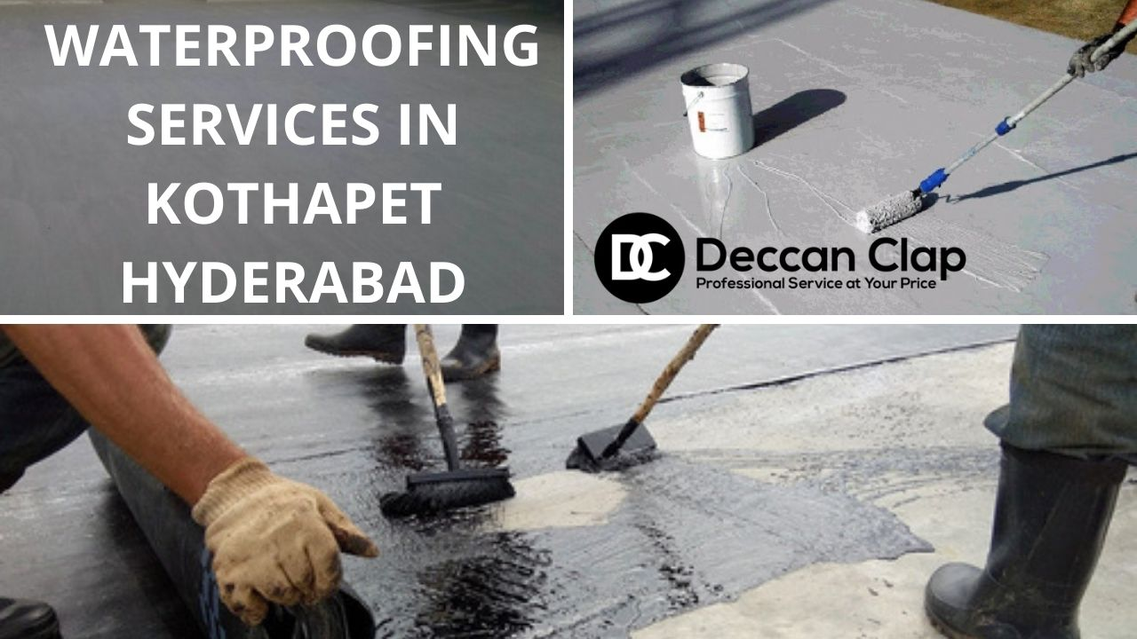 Waterproofing services in Kothapet Hyderabad