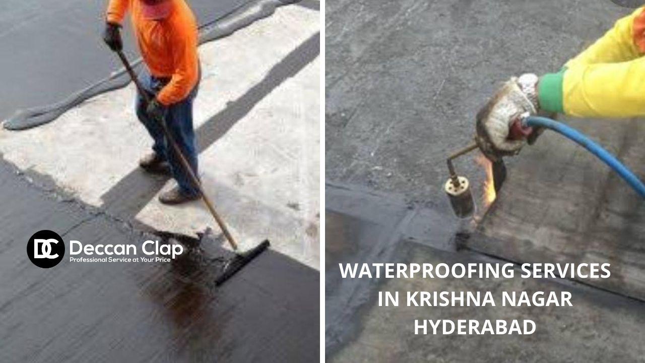 Waterproofing services in Krishna nagar Hyderabad