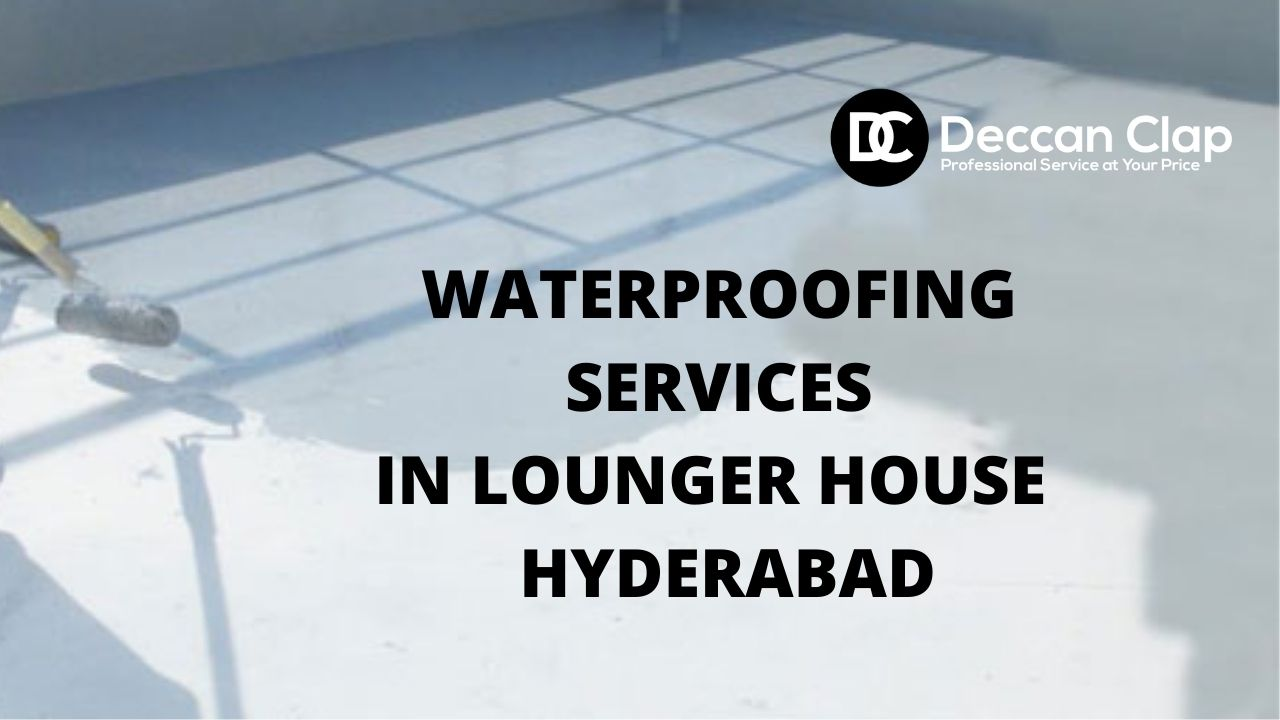 Waterproofing services in Lounger house