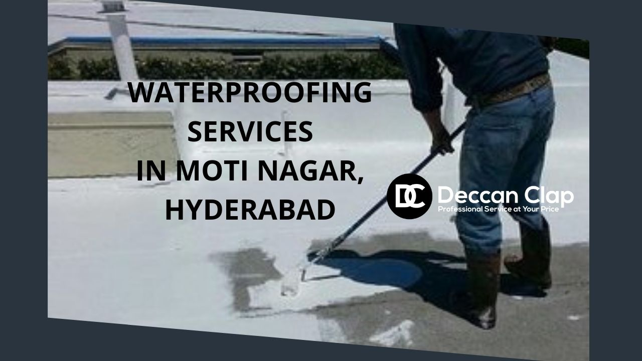 Waterproofing services in Moti nagar