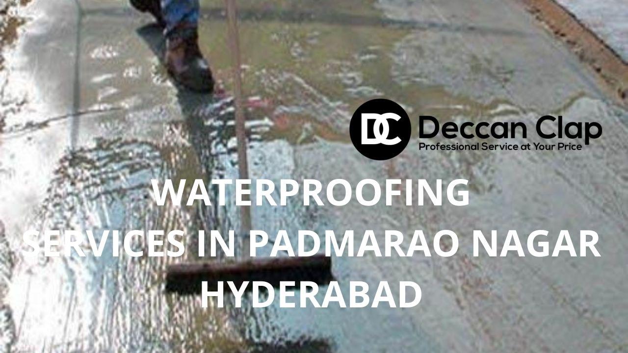 Waterproofing services in Padmarao Nagar