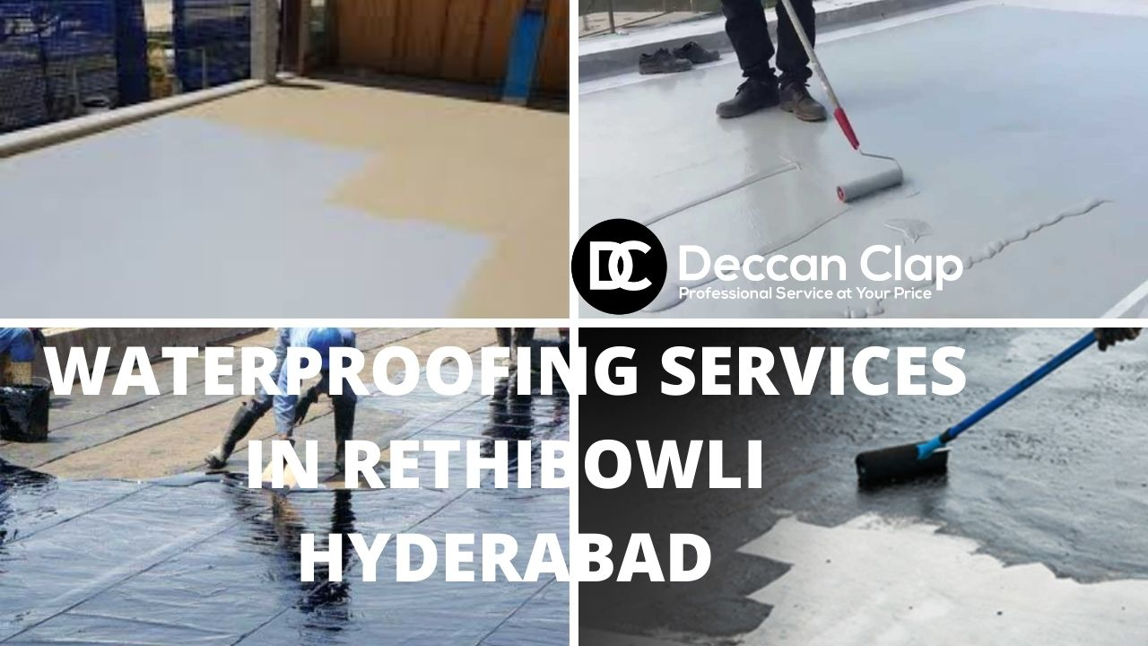 Waterproofing services in Rethibowli