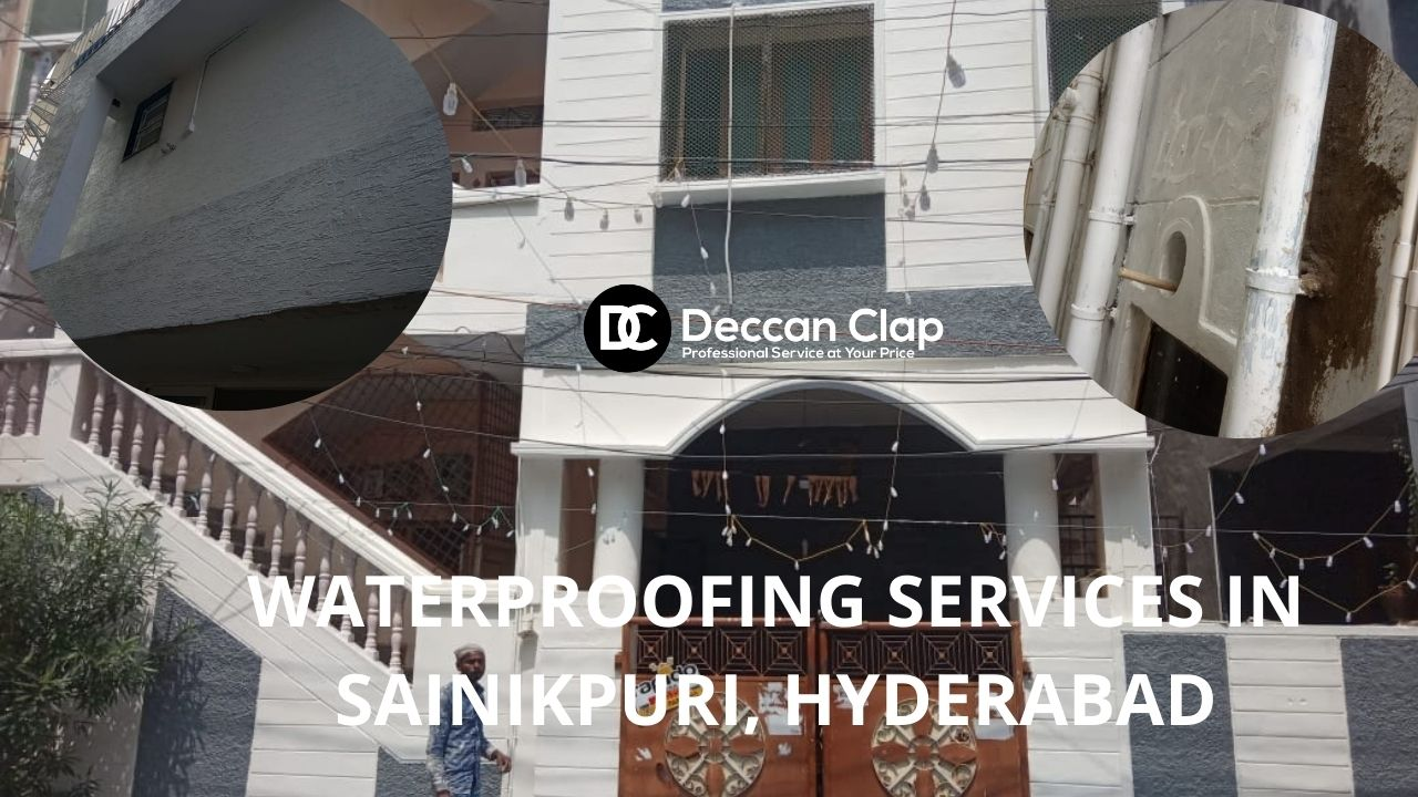 Waterproofing services in Sainikpuri