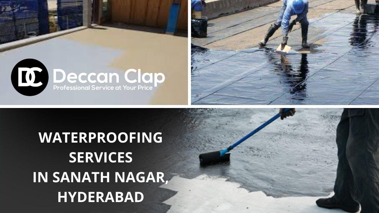 Waterproofing services in Sanath nagar