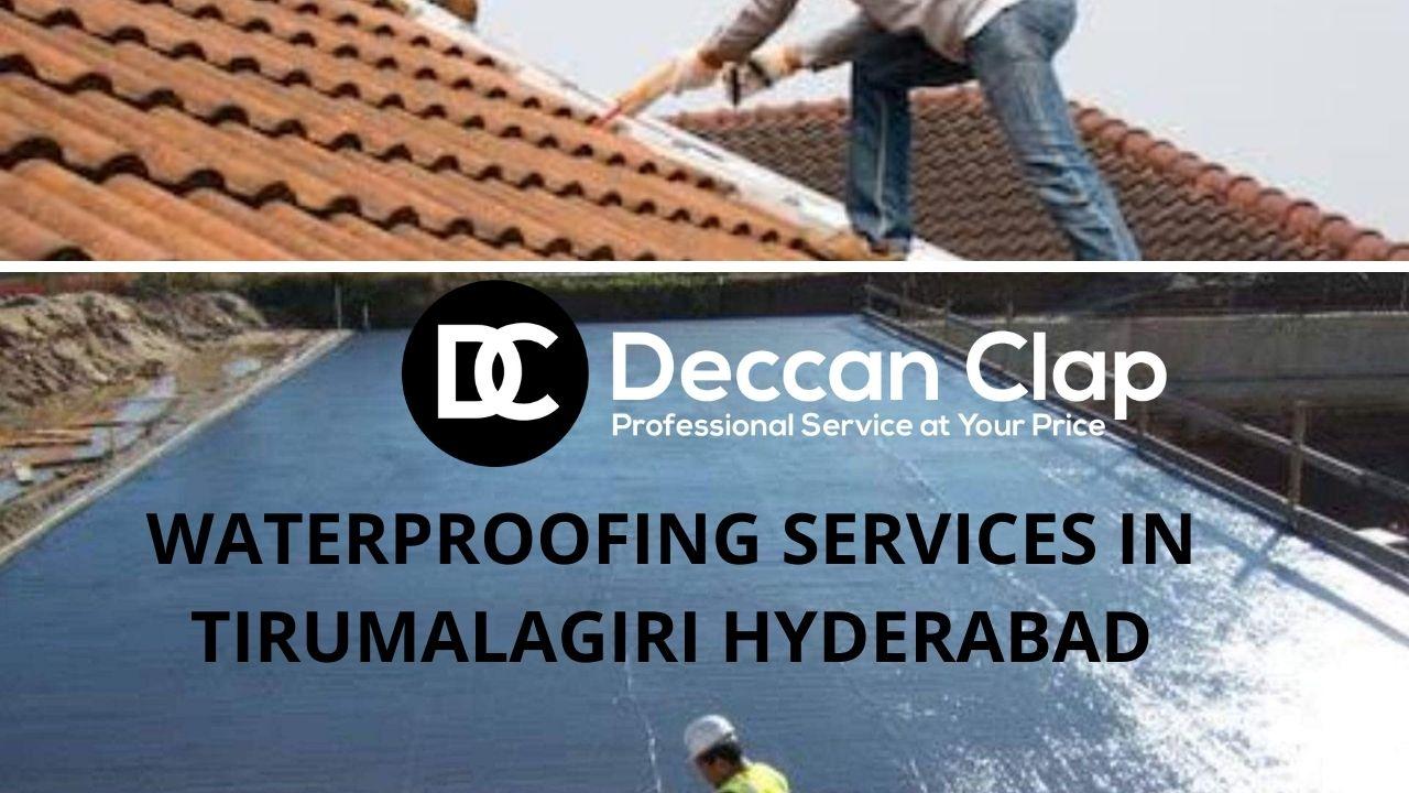 Waterproofing services in Tirumalagiri