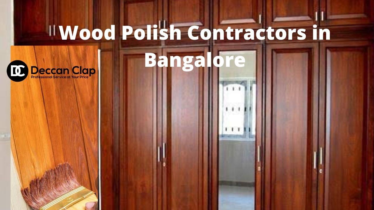 Wood Polish Contractors in Bangalore